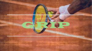 テニス、ラケットのグリップの握り方、