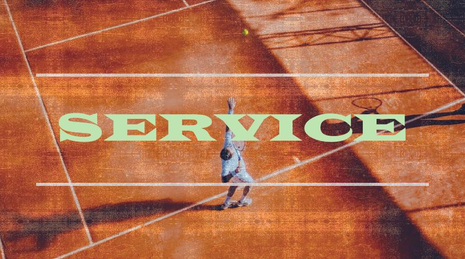 テニス、サーブのコツは運動連鎖にある