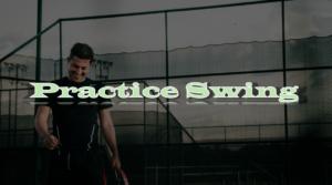 テニス、素振りの注意点