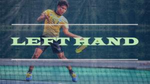 テニス、左利きの対策方法