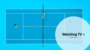テニス、WOWOWとDAZN比較記事